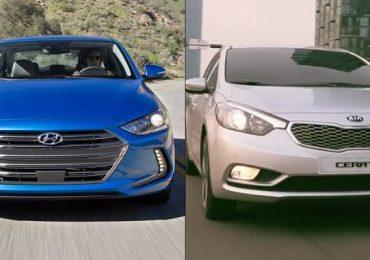 Hyundai Elantra và Kia Cerato: Cạnh tranh của 2 mẫu sedan Hàn Quốc