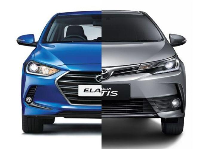 Hyundai Elantra và Toyota Corolla