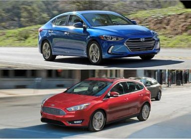 Xe sedan hạng C - Hyundai Elantra và Ford Focus